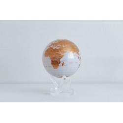 White and Gold Globe